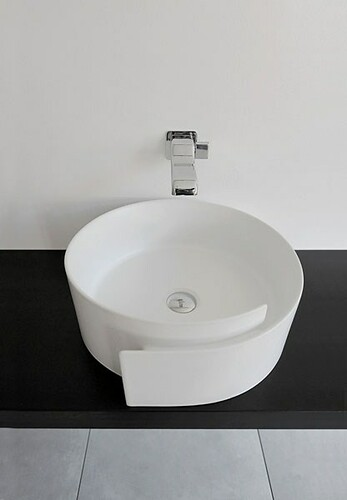 Fashionable Bathroom Sink by Flaminia – Roll by Design Inspiration Gallery