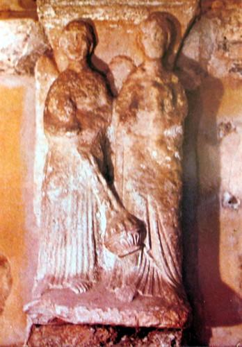 Den hellige Agilbert og en engel (600-t), Jouarre