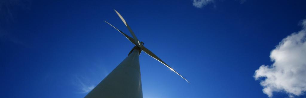我站在風車山上