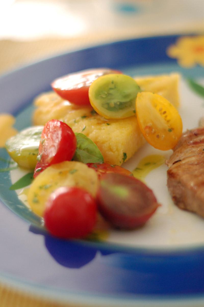 tomates+polenta