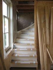 De nieuwe trap