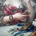 François Boucher, Madame de Pompadour (detail of still life), oil on canvas, 1750