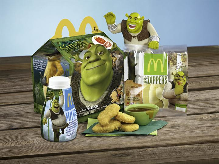 mcdonalds shrek-forever-after 2010 us-happy-meal