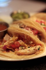 Coast Restaurant - chicken taco