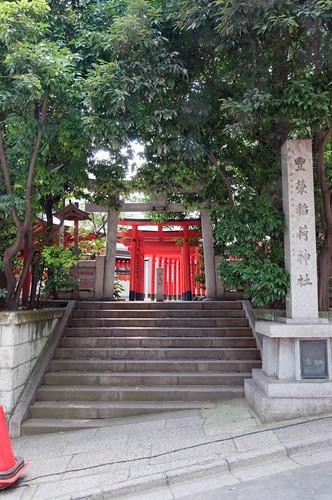 Toyosakai inari Jinja entrance