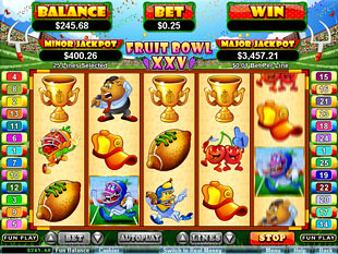 Fruit Bowl XXV slot game online review