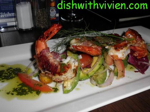 prawn-avocado