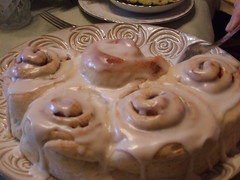 Home made cinnamon rolls
