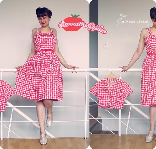 Carrot and Apples, J. na Leśno-Marchewkowej, blog szafiarski, retro, vintage, moda, 50s