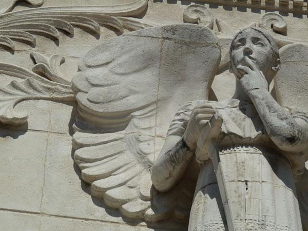 Angels at Fourvière