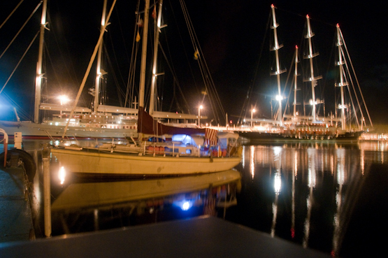 Papeete harbour