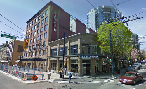 Google Street Views of Hotels