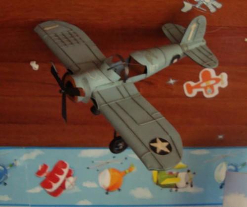 Avião antigo( réplica)