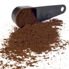 coffee grounds, soil coffee