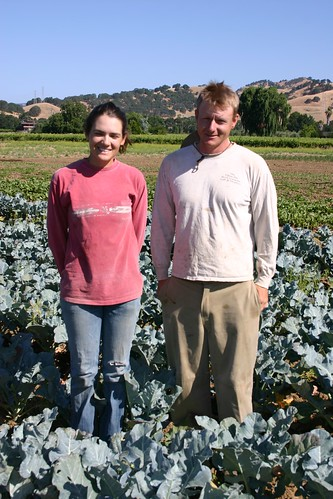 The Recovery Act added $5.6 million to FSA's annual farm lending portfolio for California.  This helped Matt McCue and Lily Schneider launch their farming venture in Suisun Valley.