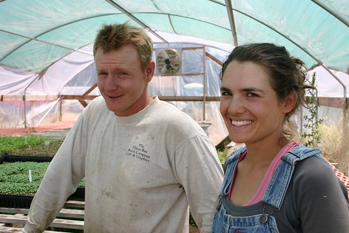 Matt McCue and Lily Schneider of Shooting Star CSA survived the process of becoming a California Certified Organic Farm.  They use no chemicals or pesticides, and rely on practices that reduce impact on the environment.
