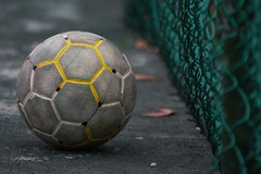 Its called SOCCER! (Meera Navare) Tags: india tamilnadu auroville meeranavare