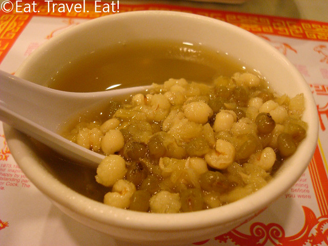Barley and Mung Bean Dessert