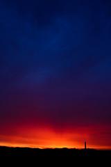 Sunset #2 (Square Eyes) Tags: lighthouse canon denmark nr dnemark leuchtturm lyngvig eos450d
