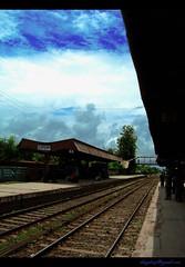 CHUADANGA RAILWAY STATION (Asif Adnan Shajal) Tags: lines station railway line railwaystation bangladesh chuadanga framebangladesh