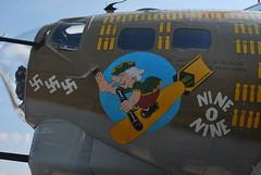 Thunder over Michigan B17 (nelnov) Tags: b17 bomber noseart thunderovermichicgannelnovmichicganairshow2