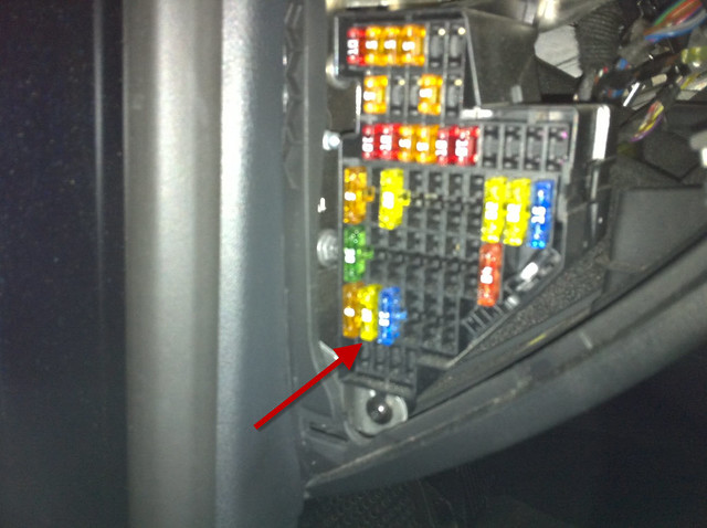 Bed Z on vw tiguan 2011 fuse box diagram