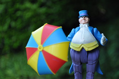 Oswald C. (skipthefrogman) Tags: umbrella fun toy penguin dc comic action character awesome super 80s batman kenner powers universe oswald superfriends cobblepot skipthefrogman