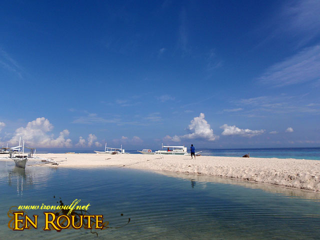 White Beach Sandbar at Pamilacan Island