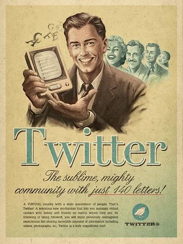 Twitter en 1950