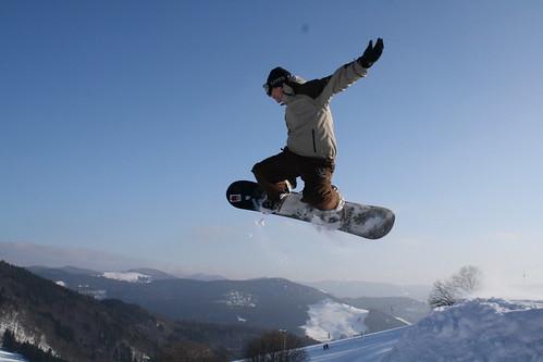 Snowboarden Schwarzwald