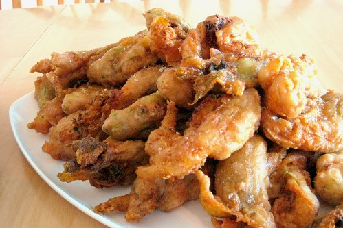 Deep-Fried Zucchini Flowers