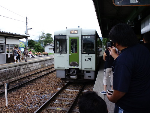 小海線野辺山駅にて