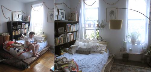 daria souvorova, sweet daria's, new handmade bed