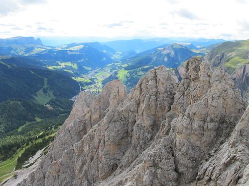 Ausblick von der Kleine Cirspitze