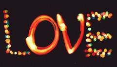 LOVE (Smackthatbird) Tags: christmas longexposure love canon vintage 50mm lights franklin virginia colorful christmaslights roanoke teenager 5d dust rockymount filmgrain alienskinexposure multipleexpsoures 5dmarkii filmtexture