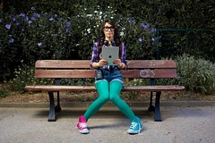 NERD (imagine8.fr) Tags: paris nerd glasses geek walkman converse aiwa ipad quadrarangerrx