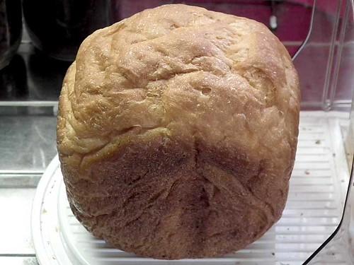ホームベーカリーで2010年8月9日に作ったパン