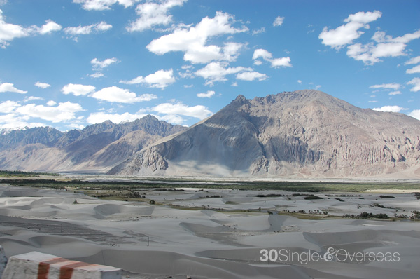 San dunes, Nubra Valley