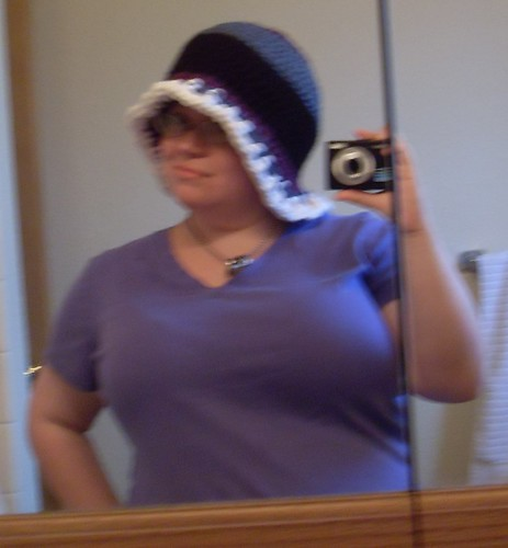 me in silly hat