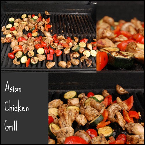 asian chicken grill