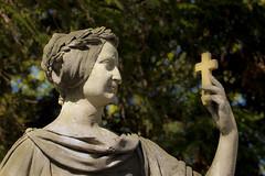 (L I C H T B I L D E R) Tags: friedhof cemetery statue angel kln christianity spirituality engel mystic melaten