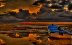 Unfriendly morning (maninerror (hanif)) Tags: sky bali cloud sun seascape beach indonesia landscape explore hdr hdri