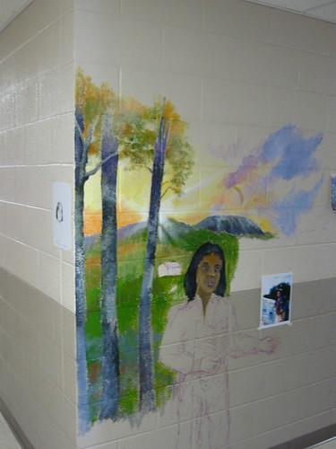 Cherokee in Mural