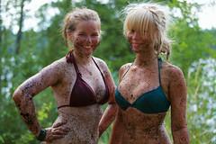 Oona & Inkeri (Timo Vehvilinen) Tags: portrait girl suomi finland dof bokeh scout bikini evo scouting leiri canonef70200mmf4l partio kilke finnjamboree