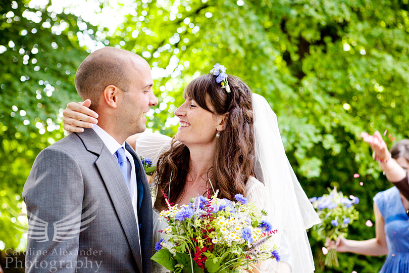 Preston Church Gloucestershire Wedding Photographer kiss 14