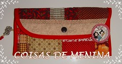CARTEIRA FECHADA (Espao Art Atelier) Tags: coisasdemeninapatchworkpatchwork lixeirapatchwork necessariepatchwork