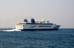 The Ferry to Mykonos