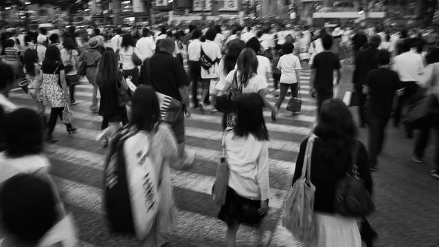 rush hour shibuya