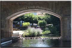 by the river (Linda Cronin) Tags: bridge portugal water river restaurant pregamewinner