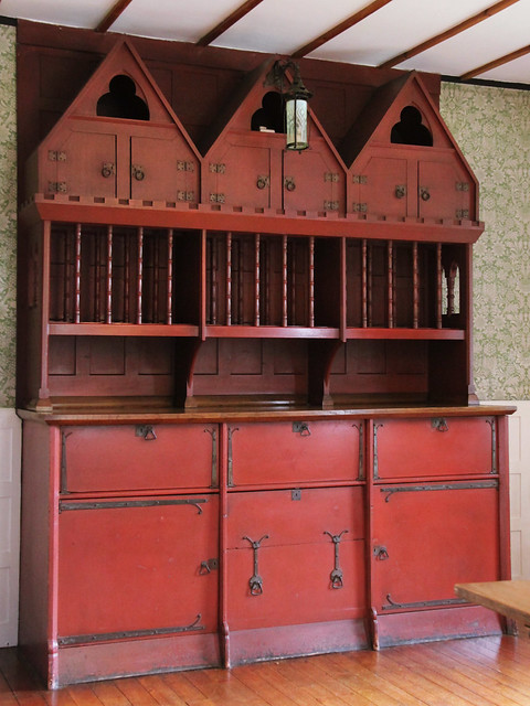 Cabinet in Dining Room